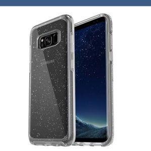Samsung Galaxy S8 sparkle clear OtterBox case